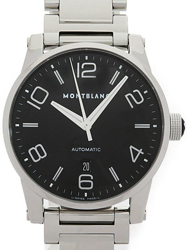 【MONTBLANC】【OH済】モンブラン『タイムウォーカー』7070 メンズ 自動巻き 3ヶ月保証【中古】