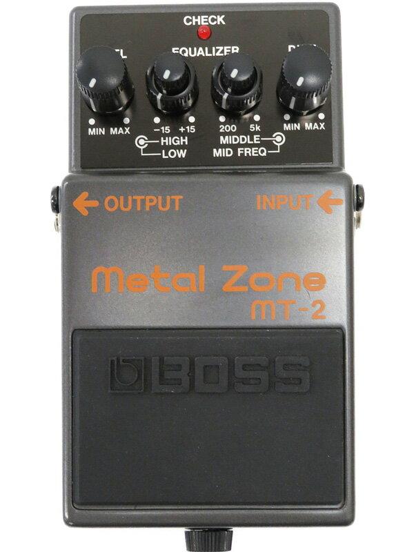 【BOSS】ボス『メタルゾーン』MT-2 コンパクトエフェクター 1週間保証【中古】