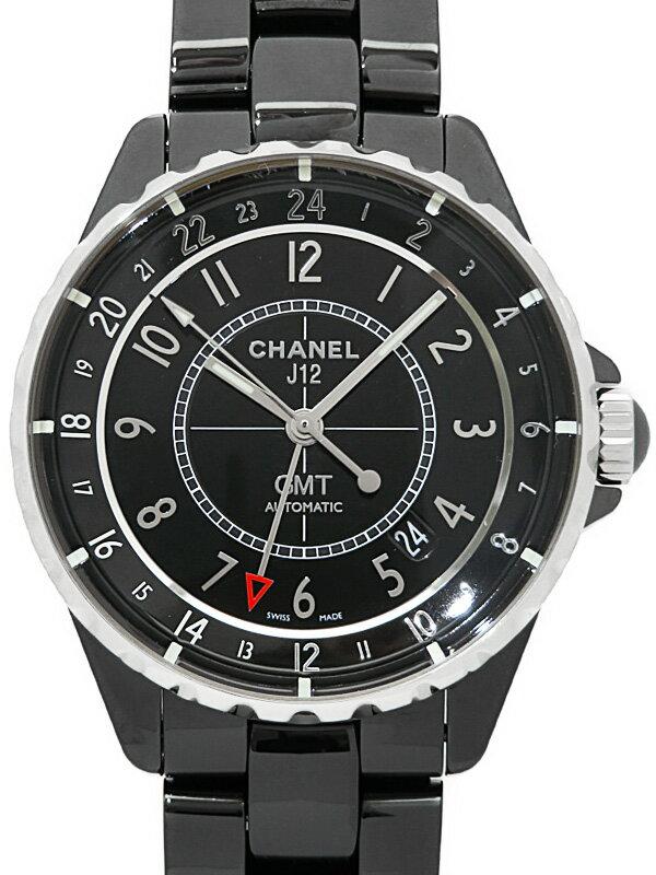 2c4b9d1c27cf 【CHANEL】【OH済】シャネル『J12 ブラックセラミック GMT 41mm』H3101