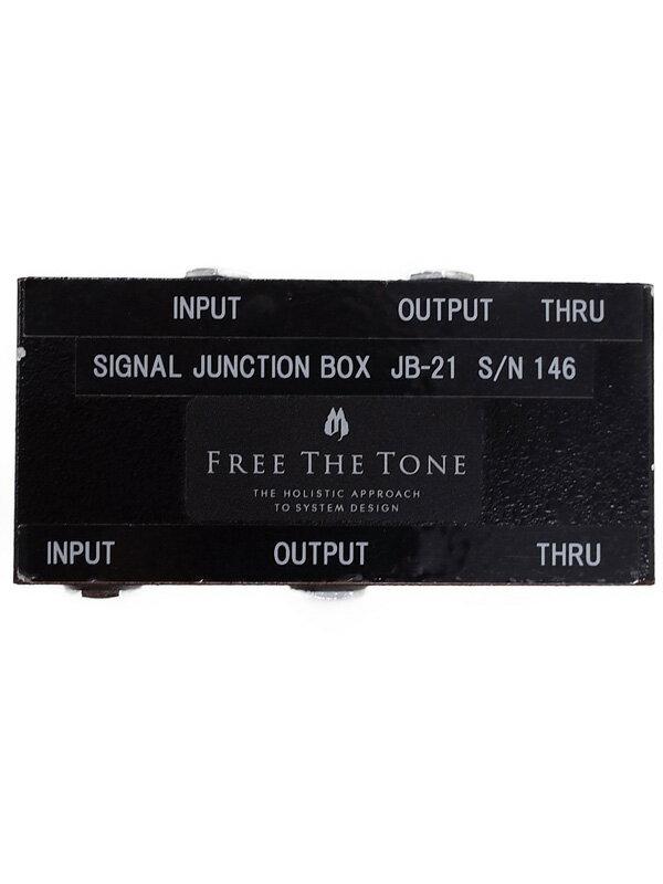 【FREE THE TONE】フリーザトーン『シグナルジャンクションボックス』JB-21 エフェクター 1週間保証【中古】