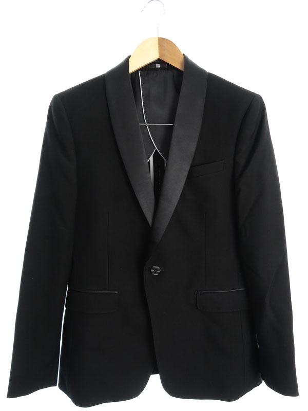 【SUIT SELECT】【ベスト付】【上下セット】スーツセレクト『3ピーススーツ size上下A4 ベストY4』メンズ セットアップ 1週間保証【中古】