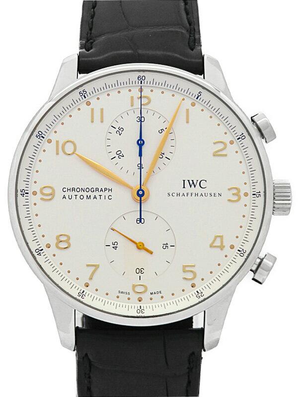 【IWC】【仕上済】インターナショナルウォッチカンパニー『ポルトギーゼ クロノグラフ』IW371445 メンズ 自動巻き 6ヶ月保証【中古】