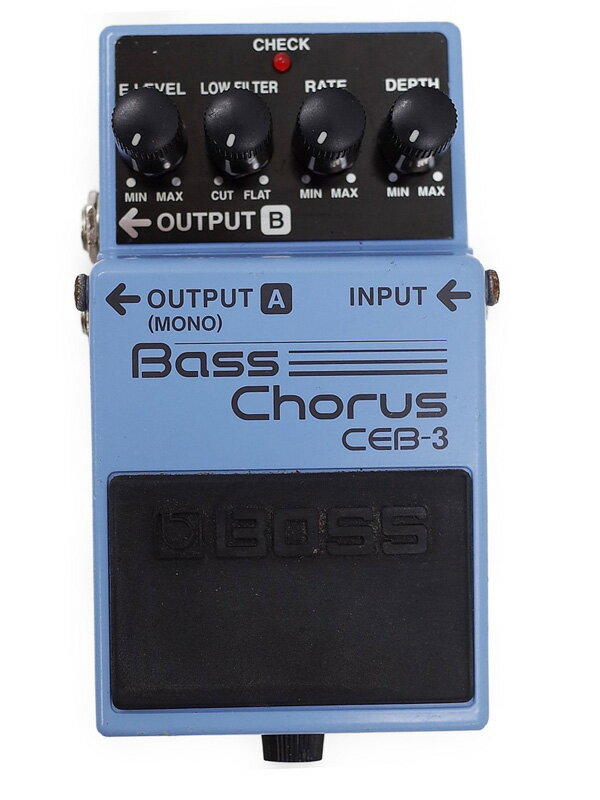 【BOSS】ボス『ベースコーラス』CEB-3 コンパクトエフェクター 1週間保証【中古】