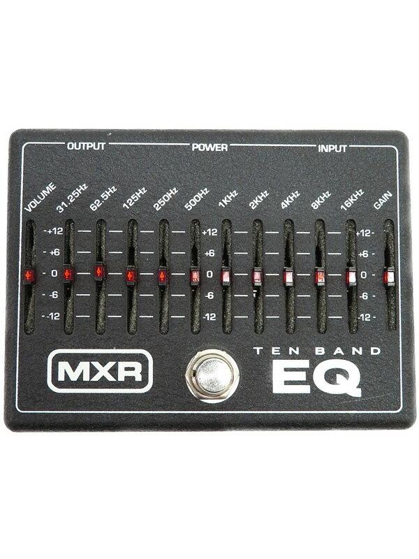 【MXR】エムエックスアール『イコライザー』10 band EQ M-108 エフェクター 1週間保証【中古】