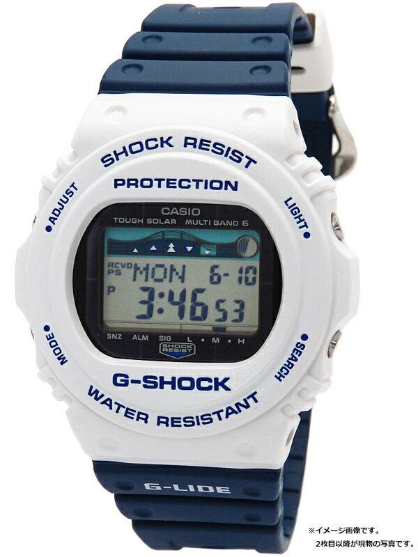 【CASIO】【G-SHOCK】カシオ『Gショック Gライド』GWX-5700SS-7JF メンズ ソーラー電波クォーツ 1週間保証【中古】