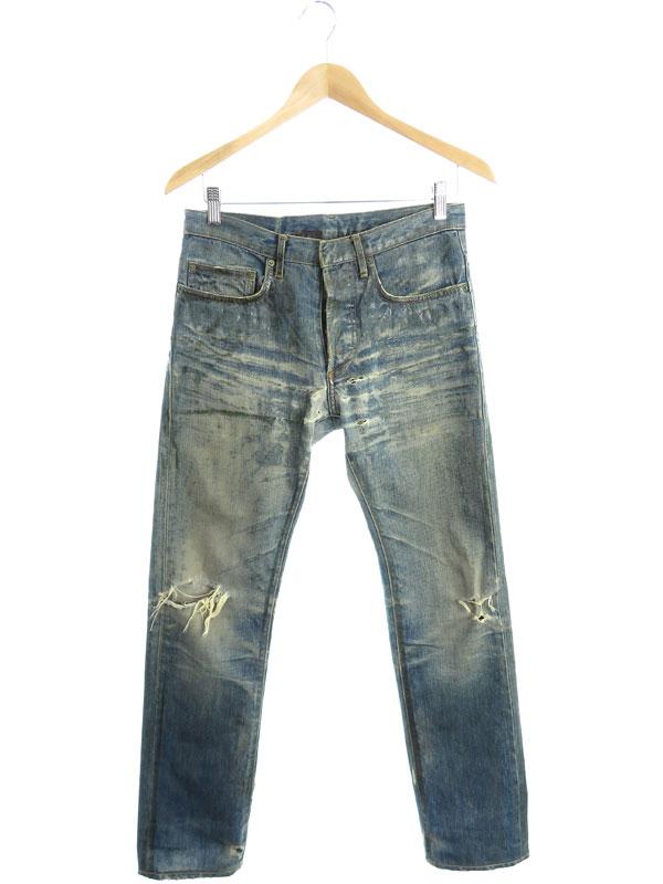 【Dior Homme】【ラスターコーティング】【ジーパン】【ボトムス】ディオールオム『ジーンズ size29』6H81011524 06AW メンズ デニムパンツ 1週間保証【中古】