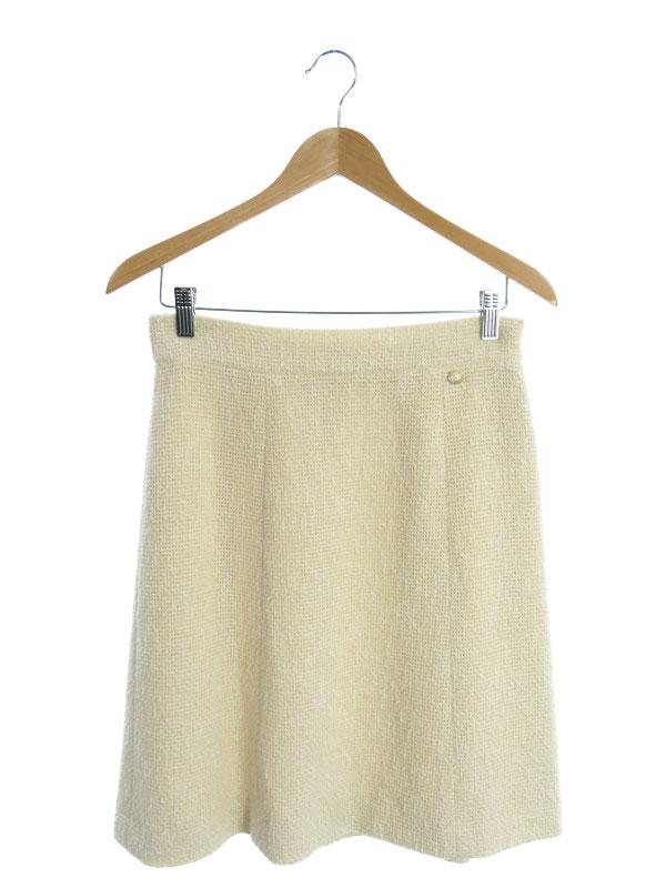 【CHANEL】【フランス製】【ボトムス】シャネル『スカート size42』P38355V25563 レディース 1週間保証【中古】