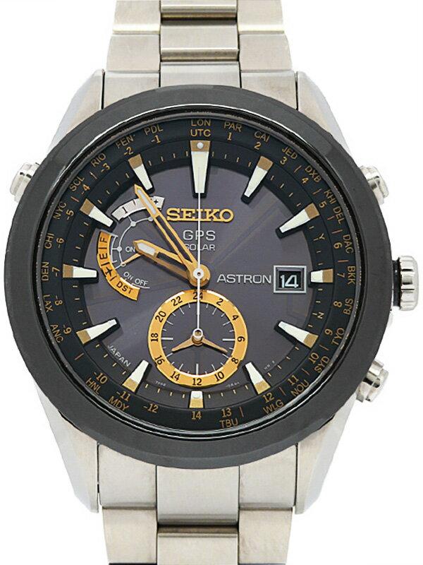 【SEIKO】セイコー『アストロン』SBXA005 7X52-0AA0 35****番 メンズ ソーラーGPS 1ヶ月保証【中古】