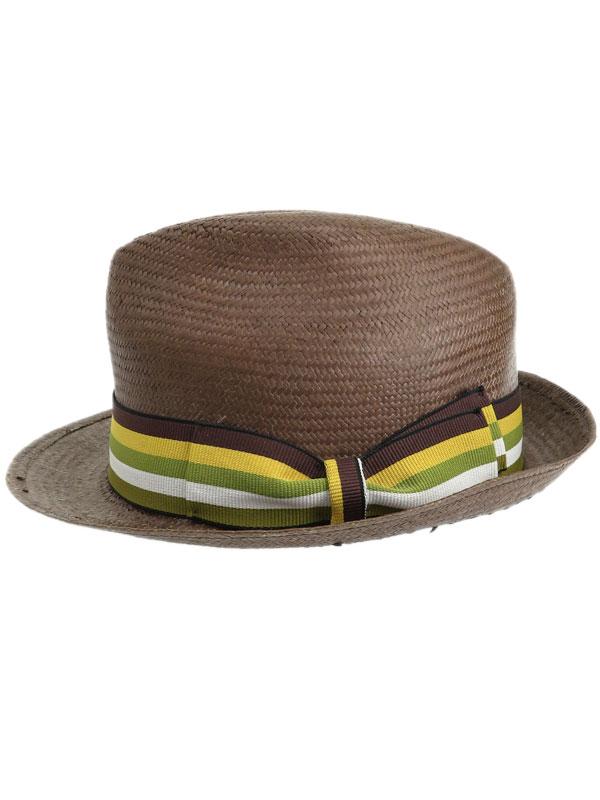 【Borsalino】【MISTER】【イタリア製】ボルサリーノ『中折れハット size58』メンズ 帽子 1週間保証【中古】