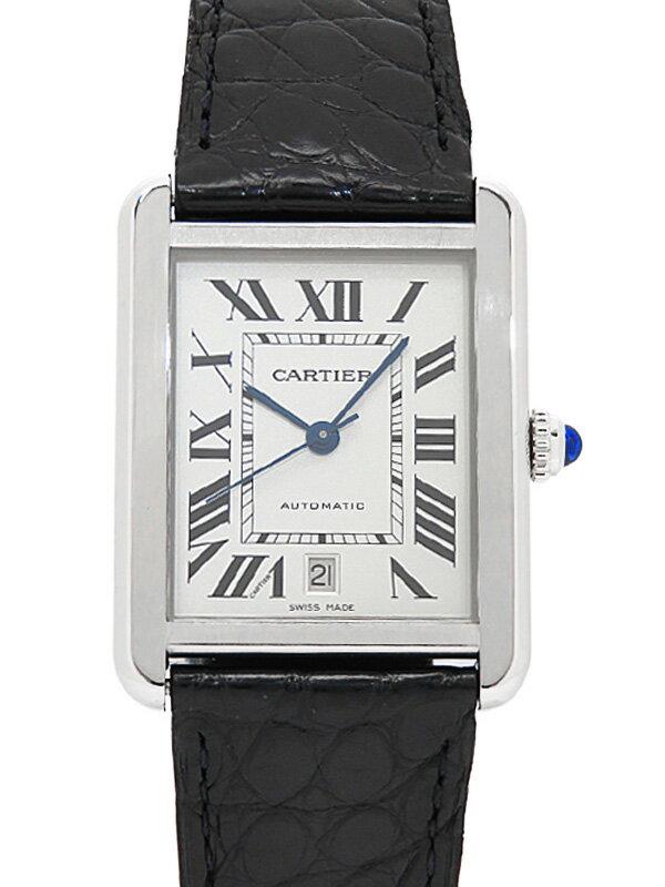 【Cartier】【仕上済】カルティエ『タンクソロ XL』W5200027 メンズ 自動巻き 3ヶ月保証【中古】