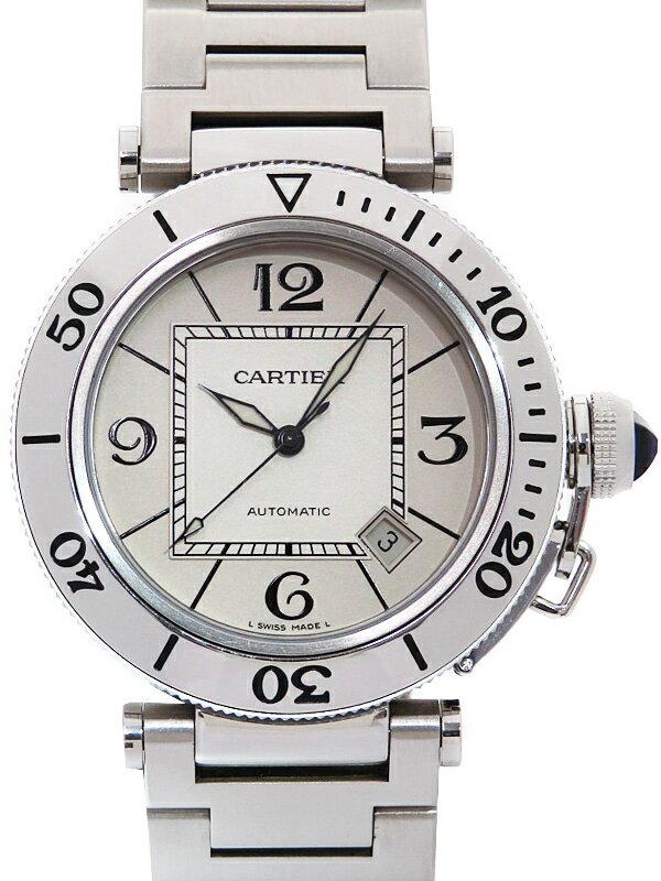【Cartier】カルティエ『パシャ シータイマー』W31080M7 メンズ 自動巻き 3ヶ月保証【中古】
