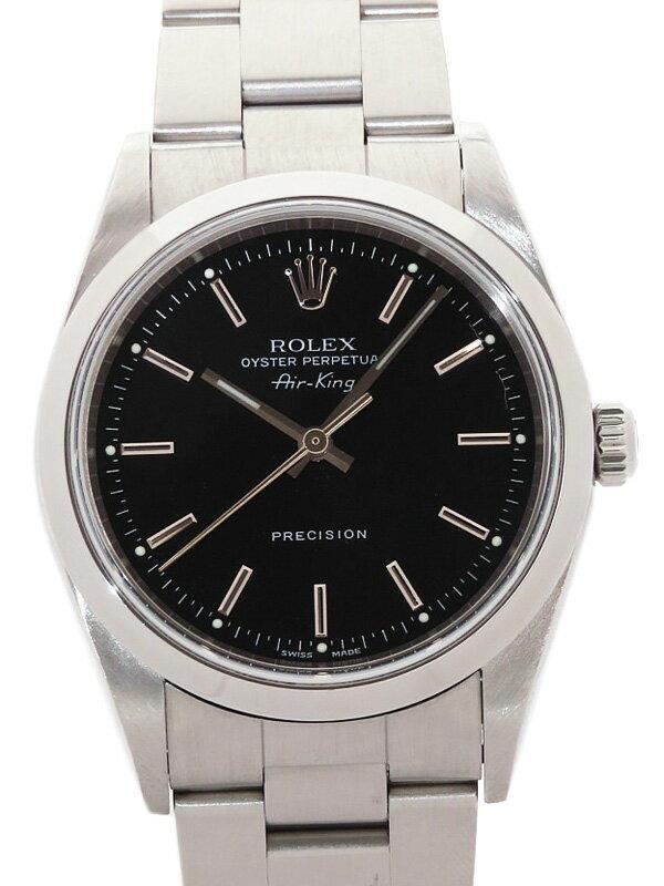 【ROLEX】ロレックス『エアキング』14000M K番'01年頃製 メンズ 自動巻き 12ヶ月保証【中古】