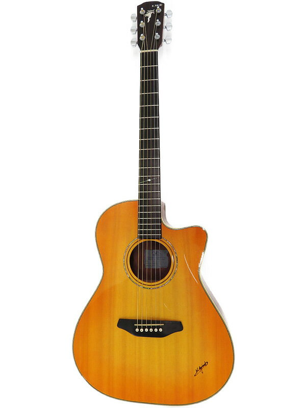 【K.Yairi】【工房メンテ済】ケイヤイリ『アコースティックギター』SMR-1C 2015年製 1週間保証【中古】
