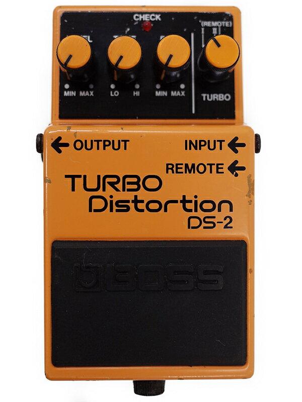 【BOSS】ボス『ターボディストーション』DS-2 コンパクトエフェクター 1週間保証【中古】