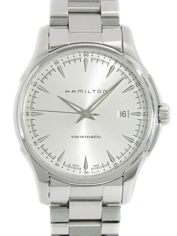 【HAMILTON】【裏スケ】ハミルトン『ジャズマスター ビューマチック』H32665151 メンズ 自動巻き 1週間保証【中古】