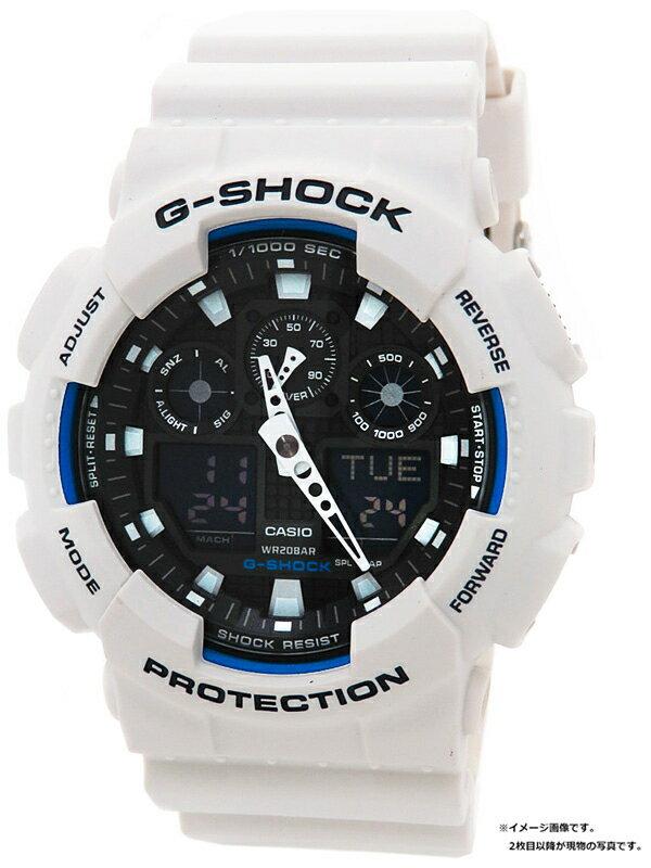 【CASIO】【G-SHOCK】カシオ『Gショック』GA-100B-7A メンズ クォーツ 1週間保証【中古】