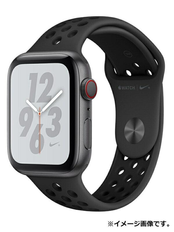 【Apple】【アップルウォッチ シリーズ4】アップル『Apple Watch Nike+ Series 4 GPS+Cellularモデル 44mm』MTXM2J/A スマートウォッチ 1週間保証【中古】