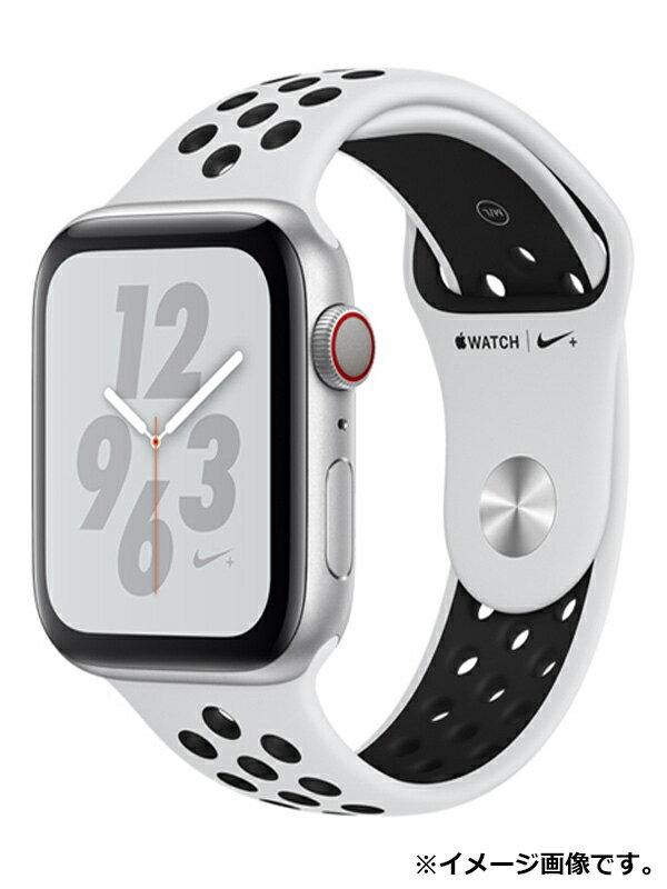 【Apple】【アップルウォッチ シリーズ4】アップル『Apple Watch Nike+ Series 4 GPS+Cellularモデル 44mm』MTXK2J/A スマートウォッチ 1週間保証【中古】