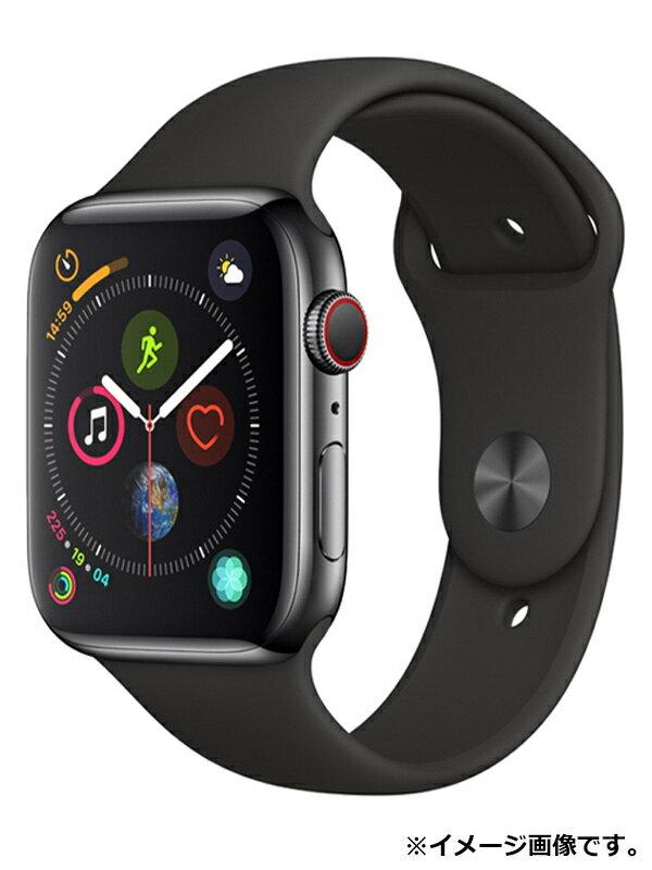 【Apple】【アップルウォッチ シリーズ4】アップル『Apple Watch Series 4 GPS+Cellularモデル 44mm 』MTX22J/A メンズ スマートウォッチ 1週間保証【中古】