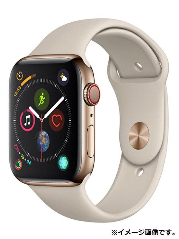 【Apple】【アップルウォッチ シリーズ4】アップル『Apple Watch Series 4 GPS+Cellularモデル 44mm』MTX42J/A メンズ スマートウォッチ 1週間保証【中古】