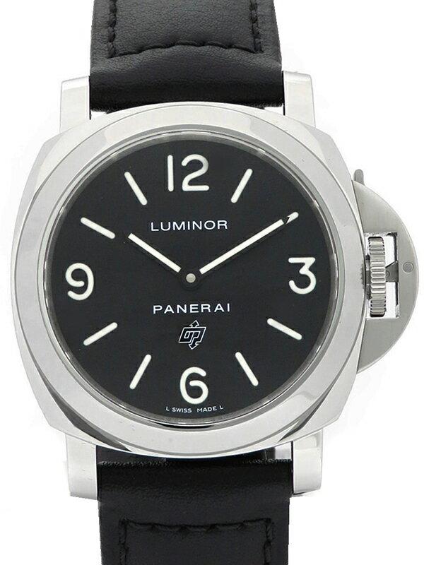 【PANERAI】パネライ『ルミノールベース ロゴ 44mm』PAM00000 R番'15年製 メンズ 手巻き 6ヶ月保証【中古】