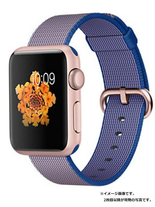 【Apple】【アップルウォッチ シリーズ1】アップル『Apple Watch Sport 38mm ロイヤルブルーウーブンナイロン』MMF42J/A ボーイズ 1週間保証【中古】