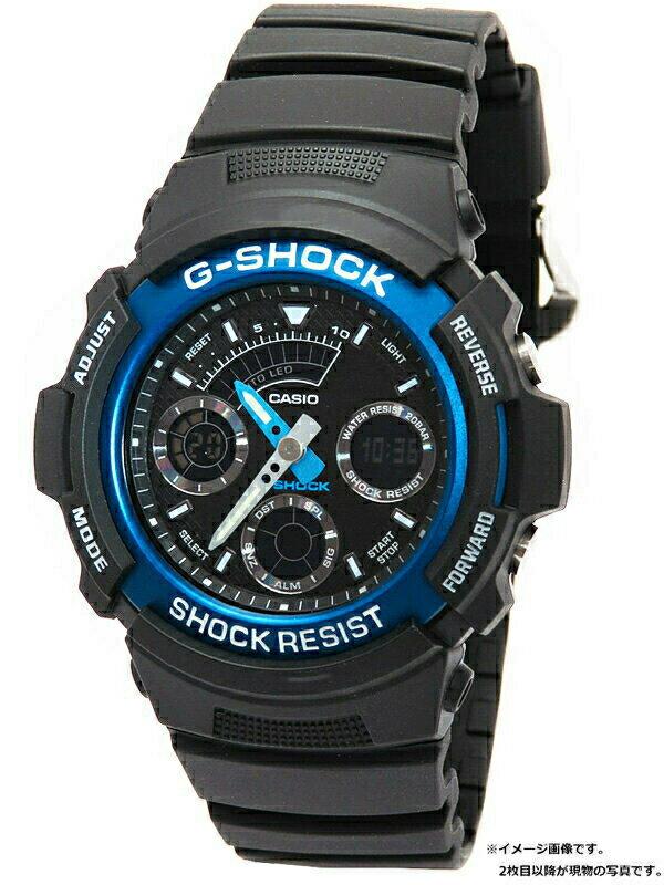 【CASIO】【G-SHOCK】【'18年購入】カシオ『Gショック』AW-591-2AJF メンズ クォーツ 1週間保証【中古】