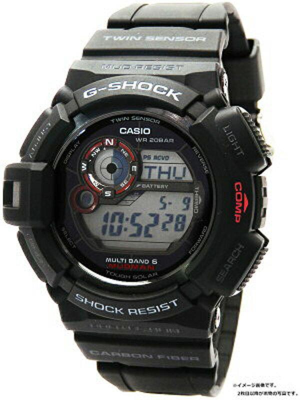 【CASIO】【G-SHOCK】【'18年購入】カシオ『Gショック マッドマン』GW-9300-1JF メンズ ソーラー電波クォーツ 1週間保証【中古】