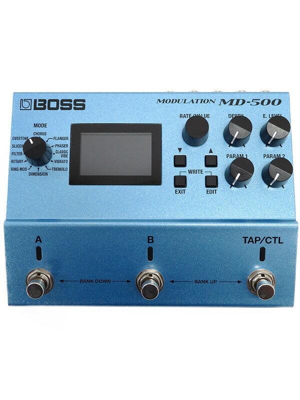 【BOSS】ボス『マルチモジュレーション』MD-500 エフェクター 1週間保証【中古】