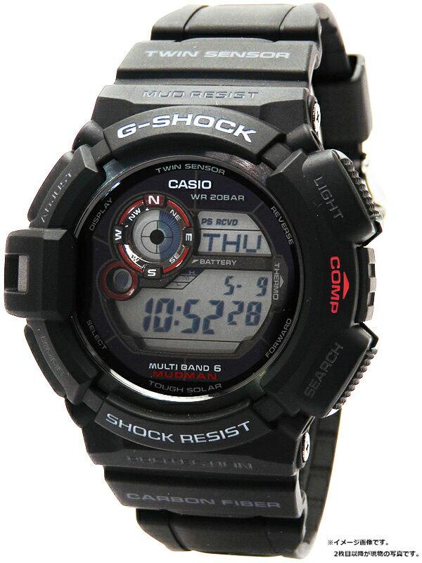 【CASIO】【G-SHOCK】カシオ『Gショック マッドマン』GW-9300-1JF メンズ ソーラー電波クォーツ 1週間保証【中古】