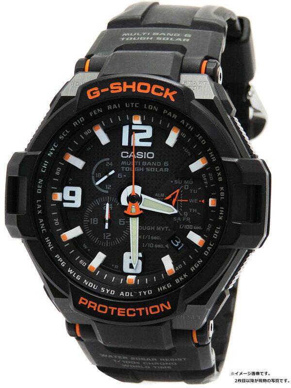 【CASIO】【G-SHOCK】カシオ『Gショック スカイコックピット』GW-4000-1AJF メンズ ソーラー電波クォーツ 1週間保証【中古】