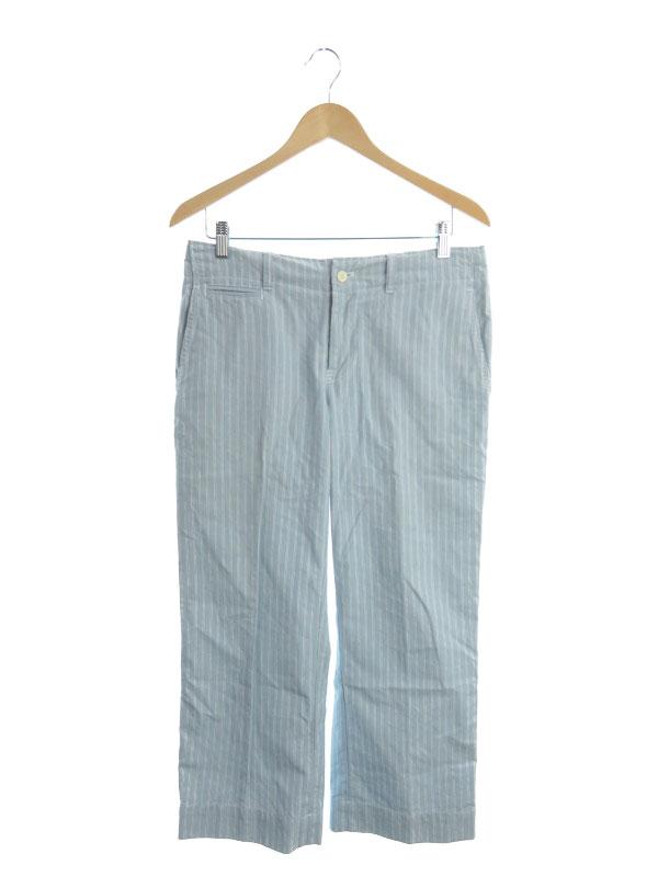 【POLObyRalphLauren】【ボトムス】ポロラルフローレン『ストライプ柄パンツ size30』PP-RL-LM3147 メンズ 1週間保証【中古】