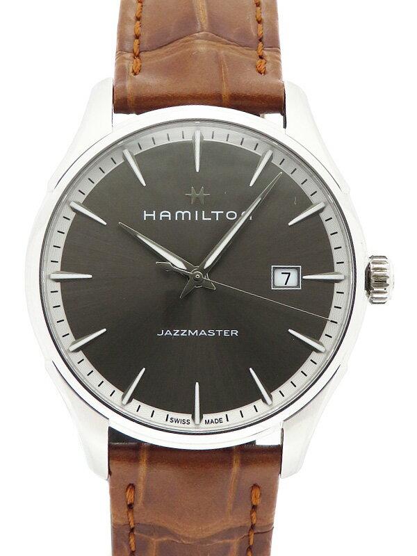 【HAMILTON】【'18年購入】ハミルトン『ジャズマスター ジェント』H32451581 メンズ クォーツ 1週間保証【中古】