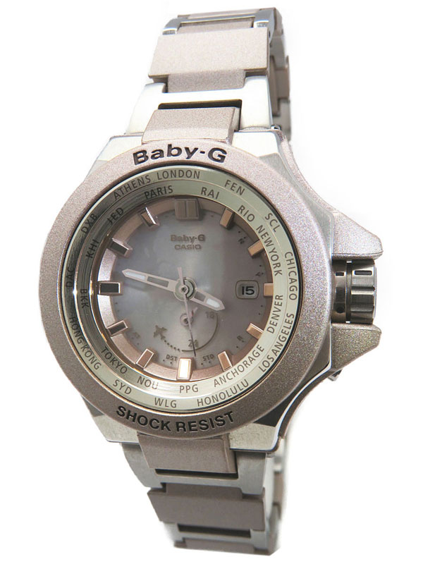 【CASIO】【BABY-G】カシオ『ベビーG トリッパー』BGA-1300-4AJF レディース ソーラー電波クォーツ 1週間保証【中古】
