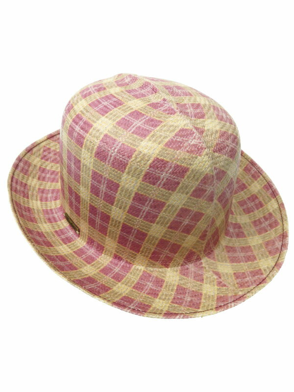 【Borsalino】【イタリア製】【帽子】ボルサリーノ『ハット size 58』レディース 1週間保証【中古】