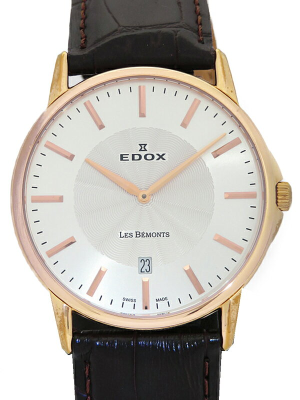 【EDOX】【電池交換済】エドックス『レ・ベモン』56001 メンズ クォーツ 1週間保証【中古】