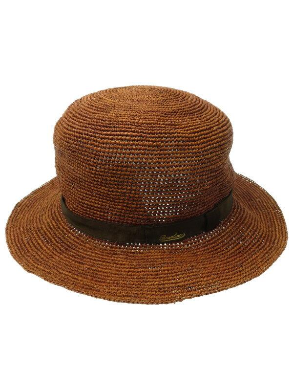 【Borsalino】【イタリア製】【帽子】ボルサリーノ『ストローハット』レディース 1週間保証【中古】