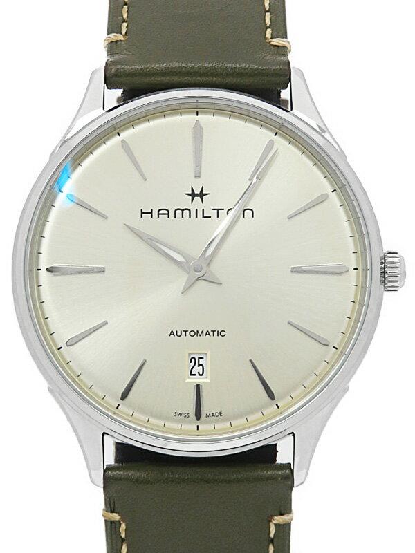 【HAMILTON】【裏スケ】ハミルトン『ジャズマスター シンライン オート』H38525811 メンズ 自動巻き 1ヶ月保証【中古】