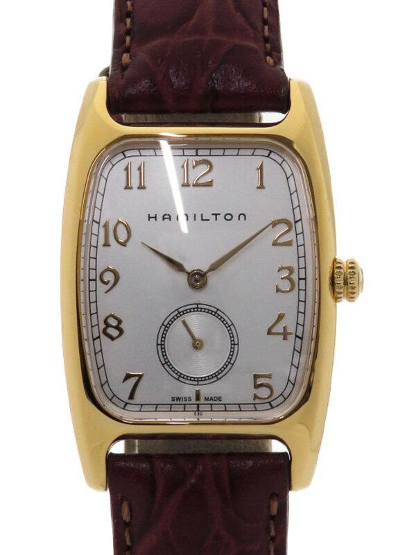 【HAMILTON】【'18年購入】ハミルトン『ボルトン』H13431553 ボーイズ クォーツ 1週間保証【中古】