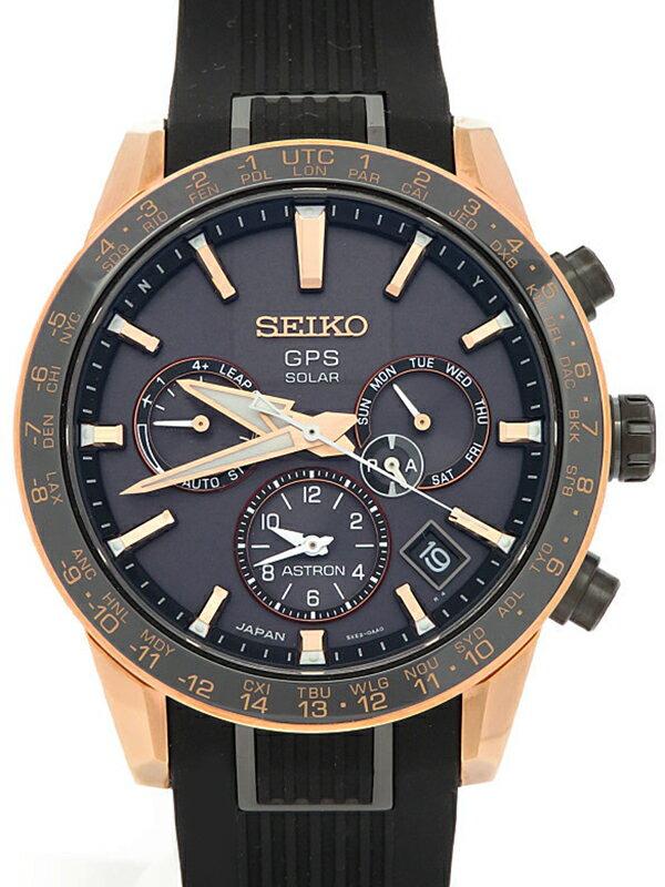 【SEIKO】【'19年購入】【美品】セイコー『アストロン』SBXC006 5X53-0AB0 89****番 メンズ ソーラー電波GPS 3ヶ月保証【中古】