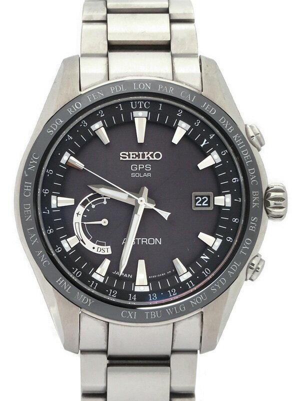 【SEIKO】【ASTRON】【'18年購入】セイコー『アストロン』SBXB085 8X22-0AG0 6O****番 メンズ ソーラー電波GPS 1ヶ月保証【中古】