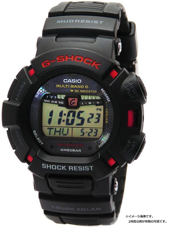 【CASIO】【G-SHOCK】カシオ『Gショック マッドマン』GW-9010-1 メンズ ソーラー電波クォーツ 1週間保証【中古】