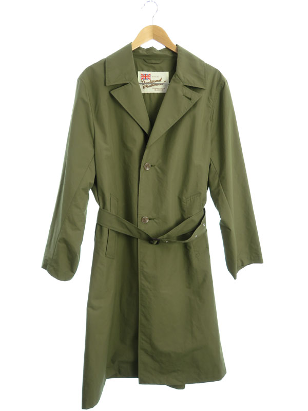 【Traditional Weatherwear】【RINGWOOD】【アメリカンラグシー別注】トラディショナルウェザーウェア『コート size38』G181APFCO0090E メンズ【中古】