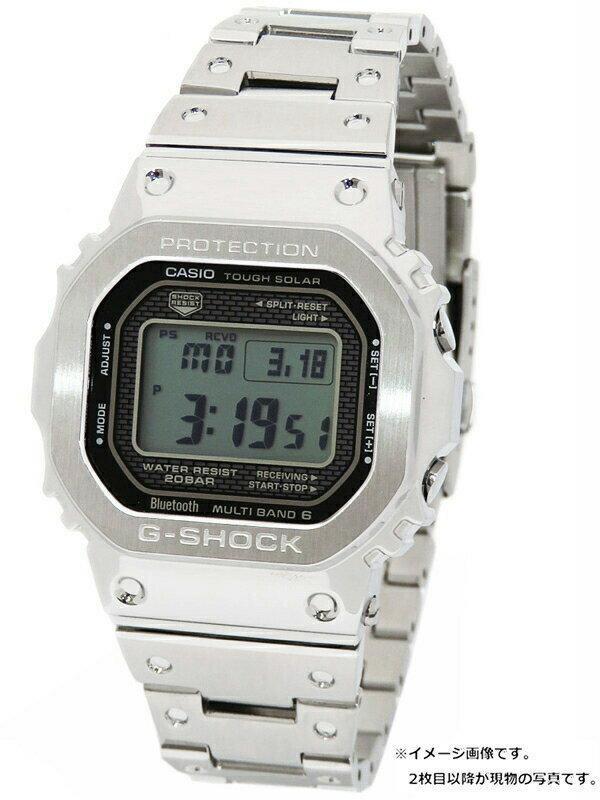 【CASIO】【G-SHOCK】【スマートフォンリンク】【'19年購入】【令和記念限定ボックス】カシオ『Gショック』GMW-B5000D-1JF ボーイズ 1ヶ月保証【中古】