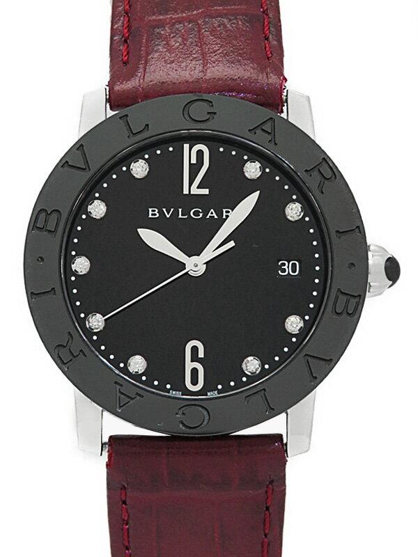 【BVLGARI】ブルガリ『ブルガリブルガリ 9Pダイヤ』BBL37SC メンズ 自動巻き 3ヶ月保証【中古】