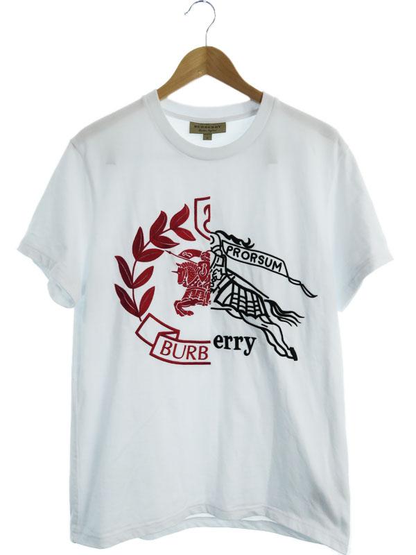 【BURBERRY】【SOLEFORD GRAPHIC】【トップス】バーバリー『半袖Tシャツ sizeM』8004968 19SS メンズ カットソー 1週間保証【中古】