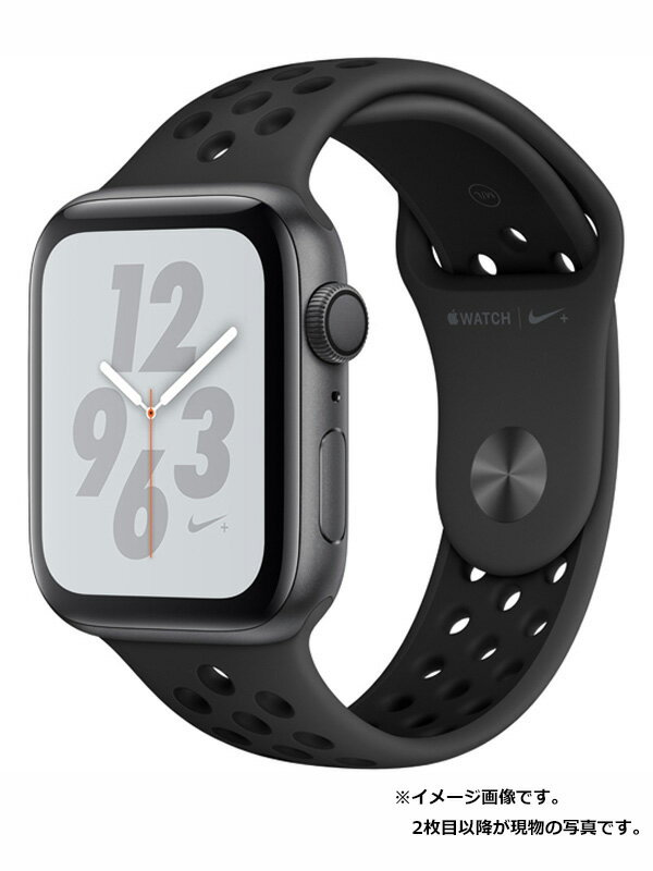 【Apple】【アップルウォッチ シリーズ4】【美品】アップル『Apple Watch Nike+ Series4 GPSモデル 44mm』MU6L2J/A メンズ スマートウォッチ 1週間保証【中古】