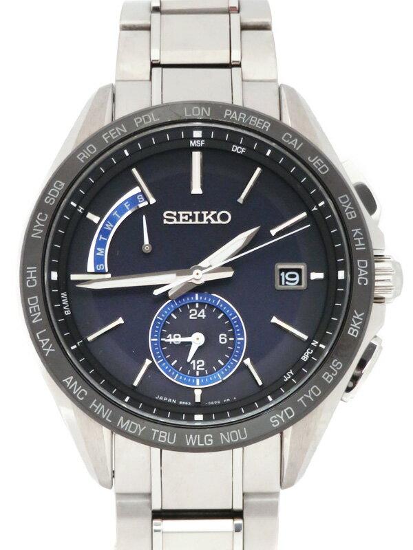【SEIKO】【BRIGHTZ】セイコー『ブライツ』SAGA235 8B63-0AB0 79****番 メンズ ソーラー電波 1ヶ月保証【中古】