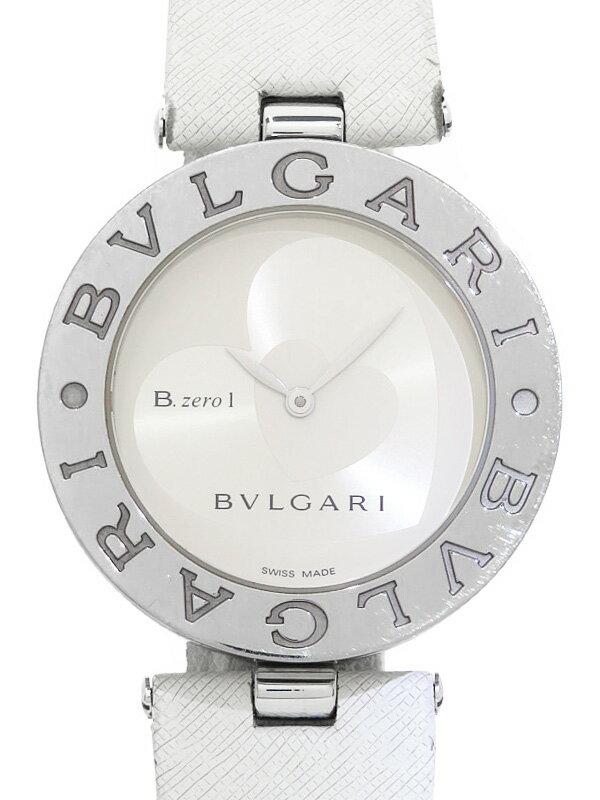 【BVLGARI】ブルガリ『B-zero1 ビーゼロワン ダブルハート』BZ35S レディース クォーツ 1ヶ月保証【中古】