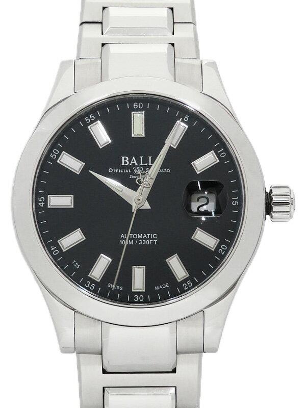 【BALL】【'19年購入】ボール『エンジニア2 マーベライト』NM2026C-S10J-BK メンズ 自動巻き 1ヶ月保証【中古】
